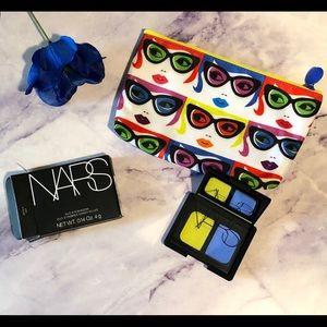 NARS duo eyeshadow+ipsy sunglasses makeup bag